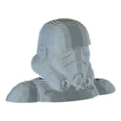 Figuras 3D de grandes dimensiones